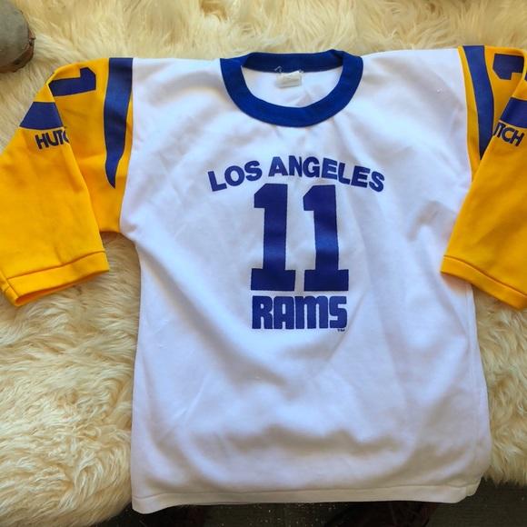 STARTER Tops | Vintage Los Angeles Rams Jersey Shirt | Poshmark  free shipping